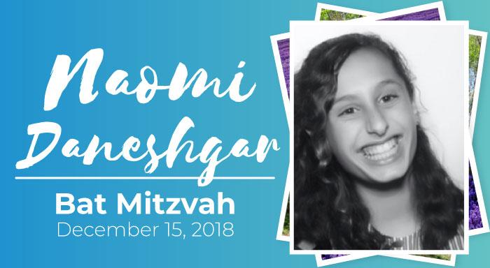 naomi daneshgar bat mitzvah temple emanuel reform judaism